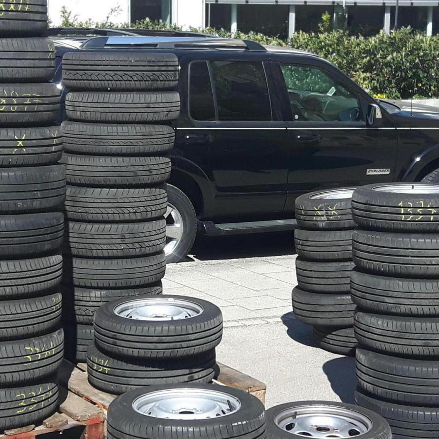Vor Ort Reifenmontage Quad