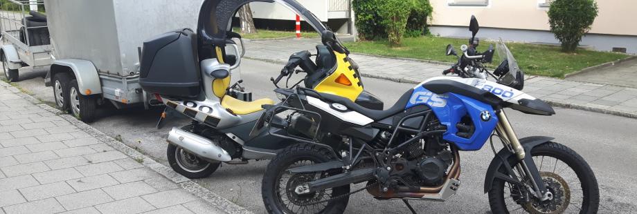 Reifenmontage Anhänger, Roller, Motorrad